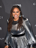 LOS ANGELES, USA. November 03, 2019: Ava DuVernay at the LACMA 2019 Art+Film Gala at the LA County Museum of Art.<br /> Picture: Paul Smith/Featureflash