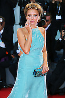 Valeria Golino attends the red carpet for the premiere of the movie 'Per Amor Vostro' during the 72nd Venice Film Festival at the Palazzo Del Cinema in Venice, Italy, September 11, 2015.<br /> UPDATE IMAGES PRESS/Stephen Richie