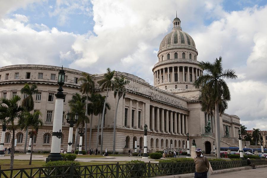 Cuba, Havana. Capitol Building.