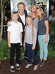 James Hetfield and family at Warner Bros. L.A. Premiere of JOURNEY 2 The Mysterious Island held at The Grauman's Chinese Theatre in Hollywood, California on February 02,2012                                                                               © 2012 Hollywood Press Agency