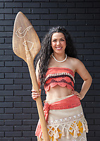 Moana Cosplay, Renton City Comicon 2017, Washington, USA.