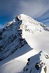 CHE, Schweiz, Kanton Bern, Berner Oberland, Grindelwald: Blick vom Jungfraujoch - Top of Europe - auf den Moench 4.107 m | CHE, Switzerland, Bern Canton, Bernese Oberland, Grindelwald: view from Jungfraujoch - Top of Europe - at Moench mountain 13.475 ft.