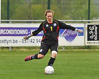 UEFA Women's Under 17 Championship - Second Qualifying round - group 1 : England - Iceland : .Berglind Jonasdottir.foto DAVID CATRY / Vrouwenteam.be