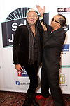 NYC Celebrity Hair Stylist Mark De Alwis at Soho Johnny's Holiday Soiree Recording Artist Star Hanson aka Aron Hanson and NYC celebrity hair stylist Mark De Alwis always known to mix it up on the Red Carpets