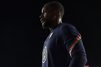 FORT LAUDERDALE, FL - DECEMBER 09: Bill Hamid #1 of the United States during a game between El Salvador and USMNT at Inter Miami CF Stadium on December 09, 2020 in Fort Lauderdale, Florida.