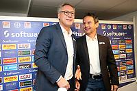 12.12.2017, SV Darmstadt 98, press conference <br /> president Ruediger Fritsch (Darmstadt),  Trainer Dirk Schuster (Darmstadt) *** Local Caption *** © pixathlon<br /> Contact: +49-40-22 63 02 60 , info@pixathlon.de