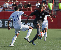 Juan Agudelo. The Under-17 US Men's National Team defeated Honduras 3-0 in the 2009 CONCACAF Under-17 Championship on April 25, 2009 in Tijuana, Mexico.