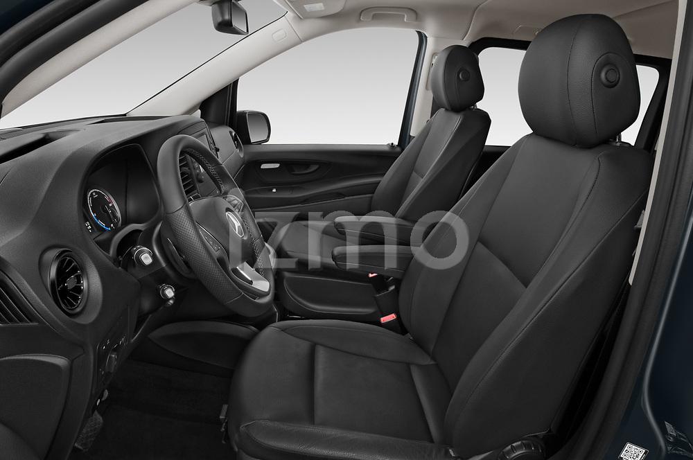 Front seat view of 2021 Mercedes Benz Vito-Tourer - 5 Door Passenger Van Front Seat  car photos
