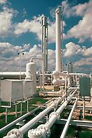 An energy power plant.