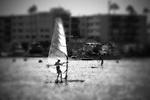 Windsurfer, Newport Beach, CA.