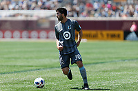 Minneapolis, MN - Saturday May 5, 2018: Minnesota United FC played Vancouver Whitecaps FC in a Major League Soccer (MLS) game at TCF Bank stadium. Final score Minnesota United FC 1, Vancouver Whitecaps FC 0