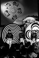 ARCHIVE - Les spectacles au Salon de la  Jeunesse durant l'expo 67, Les Baronets, avec Rene Angelil<br /> <br />  (date inconnue, annes 70)<br /> <br /> Photo : Agence Quebec Presse  - Alain Renaud