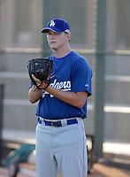 Garrett Gould - AZL Dodgers (2009 Arizona League)..Photo by:  Bill Mitchell/Four Seam Images..