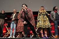 """NEW YORK CITY - OCTOBER 10: Harvey Guillén attends a 2021 New York Comic Con event for FX's """"What We Do In The Shadows"""" at the Javits Center on October 10, 2021 in New York City.  (Photo by Ben Hider/FX//PictureGroup)"""