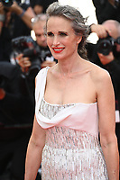 CANNES, FRANCE. July 7, 2021: Andie MacDowell at the Everything Went Fine Premiere at the 74th Festival de Cannes.<br /> Picture: Paul Smith / Featureflash