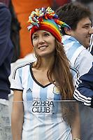 An Argentina fan