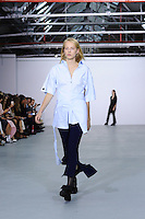 Runway<br /> at the Eudon Choi catwalk show as part of London Fashion Week SS17, Brewer Street Car Park, Soho London<br /> <br /> <br /> ©Ash Knotek  D3155  16/09/2016