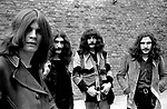Black Sabbath 1970 Ozzy Osbourne Bill Ward Geezer Butler and Tony Iommi <br /> © Chris Walter