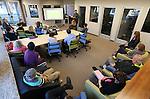 Marketing class @ Adams Hub