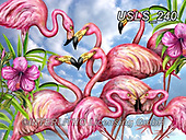 Lori, REALISTIC ANIMALS, REALISTISCHE TIERE, ANIMALES REALISTICOS, zeich, paintings+++++Mating For Life_2_combined,USLS240,#a#, EVERYDAY ,puzzle,puzzles