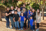 Fall family portraits at Hidden Lakes Park in Pleasant Hill. Spontaneous location family portraits.  Schedule a place and time with me to capture the spirit of your family in a location you call home.