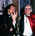 PIERRE CARDIN CON RUDOLF NUREYEV -  FESTA COVERI PALAZZO PISANI MORETTA VENEZIA 1985