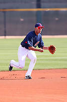 Carlos Rivero. Cleveland Indians spring training workouts at their complex in Goodyear, AZ - 03/06/2010.Photo by:  Bill Mitchell/Four Seam Images.