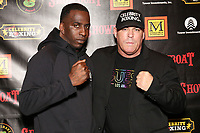 ATLANTIC CITY, NJ - JUNE 9 : Wide Neck and Damon Feldman pictured at the Celebrity Boxing press conference for Friday June 11th fights at The Show Boat Hotel in Atlantic City, New Jersey on June 9, 2021 Credit: Star Shooter/MediaPunch