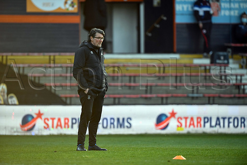 21st April 2021; Kenilworth Road, Luton, Bedfordshire, England; English Football League Championship Football, Luton Town versus Reading; Mick Hartford Chief recruitment officer at Luton Town