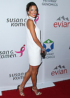 SANTA MONICA, CA, USA - JUNE 11: Alessandra Ambrosio at the Pathway To The Cures For Breast Cancer: A Fundraiser Benefiting Susan G. Komen held at the Barker Hangar on June 11, 2014 in Santa Monica, California, United States. (Photo by Xavier Collin/Celebrity Monitor)