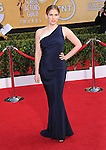 Anna Chlumsky attends The 20th SAG Awards held at The Shrine Auditorium in Los Angeles, California on January 18,2014                                                                               © 2014 Hollywood Press Agency