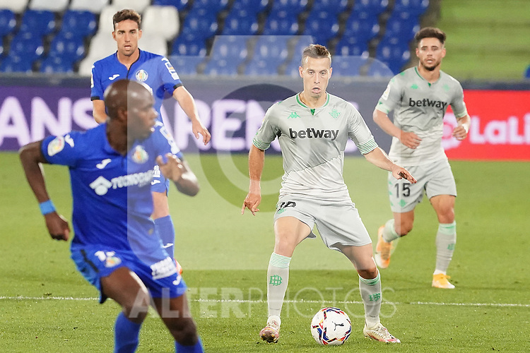 Real Betis Balompie's Sergio Canales during La Liga match. September 29,2020. (ALTERPHOTOS/Acero)