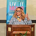 MIAMI, FLORIDA - JANUARY 29: Founder of SBGC Melanie Few attends the 21st Annual Super Bowl Gospel Celebration Press Conference at James L Knight Center on January 29, 2020 in Miami, Florida.  ( Photo by Johnny Louis / jlnphotography.com )