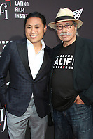 LOS ANGELES - JUN 4:  John M Chu, Edward James Olmos at the In The Heights Screening -  LALIFF at the TCL Chinese Theater on June 4, 2021 in Los Angeles, CA