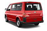 Car pictures of rear three quarter view of 2016 Volkswagen Transporter - 5 Door Passenger Van Angular Rear