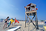 Lifeguard Station & Swimmers