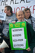 Boycott Workfare protest outside a Welfare to Work Conference in Islington, London.