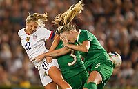 PASADENA, CALIFORNIA - August 03: Allie Long #20 during their international friendly and the USWNT Victory Tour match between Ireland and the United States at the Rose Bowl on August 03, 2019 in Pasadena, CA.