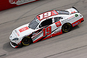 DARLINGTON, SOUTH CAROLINA - MAY 21: Brandon Jones, driver of the #19 Toyota Service Centers Toyota, drives during the NASCAR Xfinity Series Toyota 200 at Darlington Raceway on May 21, 2020 in Darlington, South Carolina. (Photo by Chris Graythen/Getty Images)