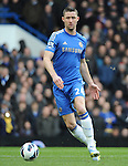 Gary Cahill of Chelsea in action during the Barclays Premiere League match between Chelsea and West Ham United at Stamford Bridge on Sunday March 17, 2013 in London, England Picture Zed Jameson/pixel 8000 ltd.