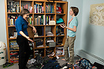 Teenage boy, age 15,  onflict with mother over condition of messy bedroom