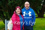 Enjoying a stroll in Muckross Gardens in Killarney on Sunday, l to r: Sinead Naughton Harrington and Austin Harrington.