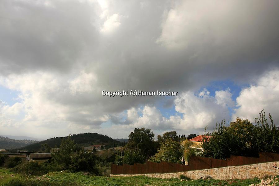 Israel, Jerusalem Mountains, Moshav Ramat Raziel