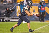 Pitt punter Kirk Christodoulou. The Penn State Nittany Lions defeated the Pitt Panthers 51-6 on September 08, 2018 at Heinz Field in Pittsburgh, Pennsylvania.