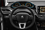Car pictures of steering wheel view of a 2016 Peugeot 2008 Allure 5 Door SUV Steering Wheel