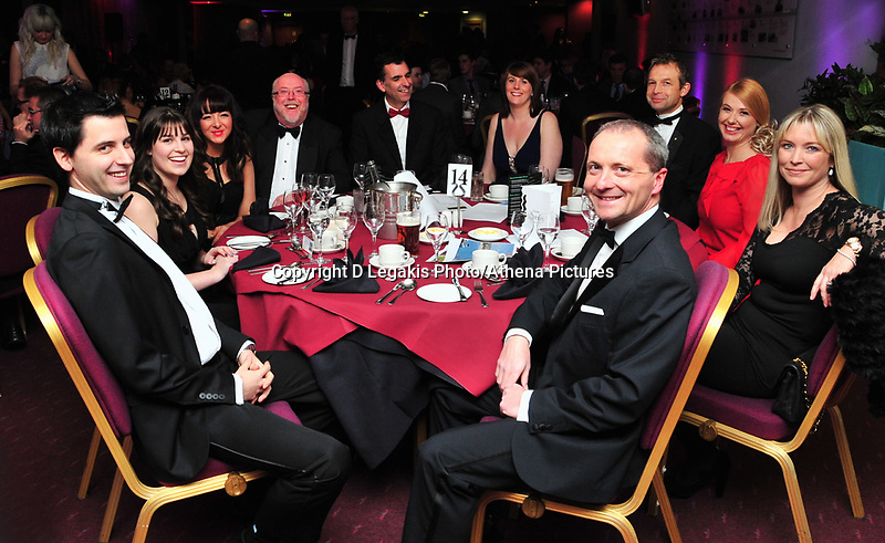 Pictured: Wednesday 10 April 2013<br /> Re: Swansea footballer Angel Rangel and wife Nicky's cancer charity fundraising dinner at the Liberty Stadium.<br /> Singer Shelley