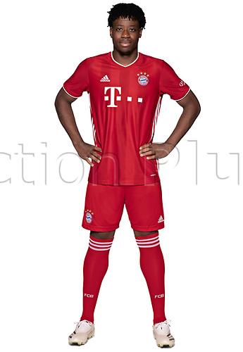 26th October 2020, Munich, Germany; Bayern Munich official seasons portraits for season 2020-21;  Bright Arrey Mbi