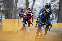 Lucinda Brand (NED/Baloise Trek Lions)<br /> <br /> Women's elite Race <br /> Zilvermeercross Mol (BEL) 2021<br /> <br /> ©Kramon