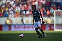 Orlando, Florida - Saturday, June 04, 2016: Paraguayan defender Miguel Samudio (6) during a Group A Copa America Centenario match between Costa Rica and Paraguay at Camping World Stadium.