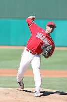 Greg Gonzalez #3 of the Fresno State Bulldogs plays against the Louisiana Tech Bulldogs in the Western Athletic Conference post-season tournament at Hohokam Stadium on May 26, 2011 in Mesa, Arizona. .Photo by:  Bill Mitchell/Four Seam Images.
